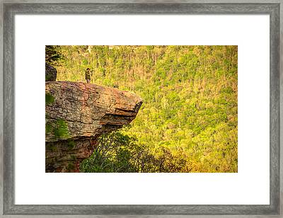 Perspective - Whitaker Point Hawksbill Crag Framed Print