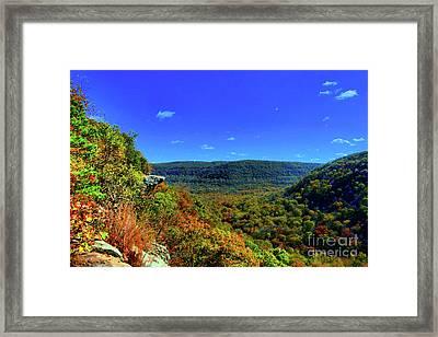 Whitaker Point Framed Print by Kevin Kuchler