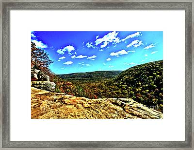 Whitakers Point View Framed Print by Kevin Kuchler