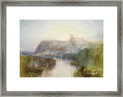 Whitby Framed Print by Joseph Mallord William Turner