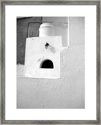 Framed Print featuring the photograph White Abstract by Ana Maria Edulescu