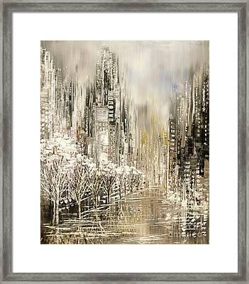White Album Framed Print by Tatiana Iliina