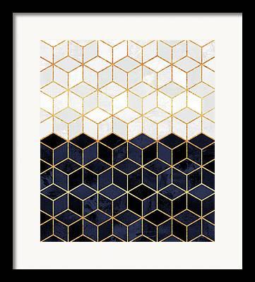 Line Design Framed Prints
