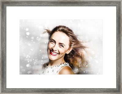 White As Snow  Framed Print by Jorgo Photography - Wall Art Gallery