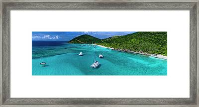 White Bay Framed Print