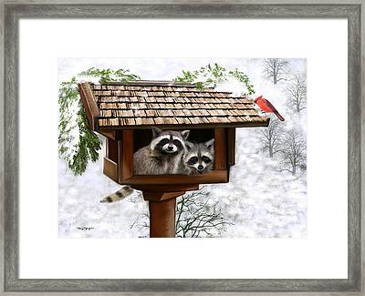 White Christmas Framed Print by Thanh Thuy Nguyen