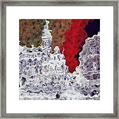 White Church Framed Print