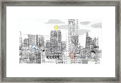 White City Framed Print