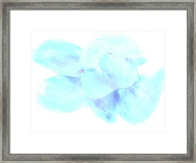 White Dance Framed Print by Nat Air Craft