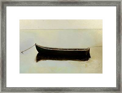 White Day Framed Print by Raimonda Jatkeviciute-Kasparaviciene