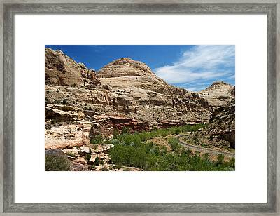 White Domes Framed Print by James Marvin Phelps