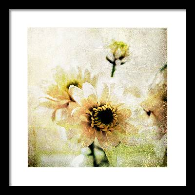 Bouquet Mixed Media Framed Prints