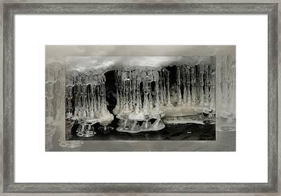 White Grotto. Framed Print by Doug Bratten