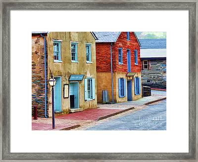 White Hall Tavern  Framed Print