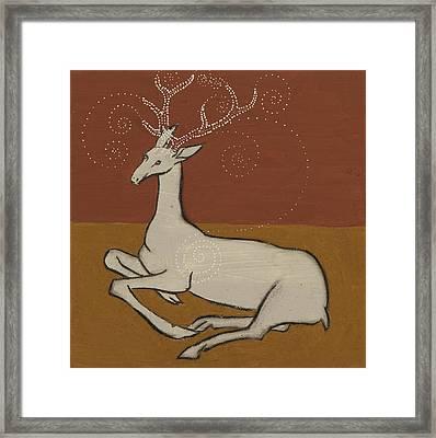 White Hart Framed Print by Sophy White