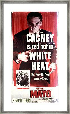 White Heat, James Cagney, Virginia Framed Print by Everett