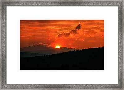 White Hot - Framed Print