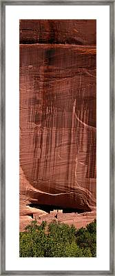 White House Ruin Canyon De Chelly Framed Print by Panoramic Images