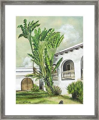 White House San Juan Framed Print by George Bloise