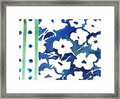 White Impatients Graphic Framed Print by C'est La Viv