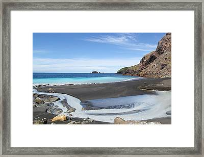 White Island In New Zealand Framed Print by Jessica Rose