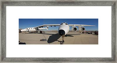 White Knight 2 Edwards Air Force Base Framed Print by Brian Lockett