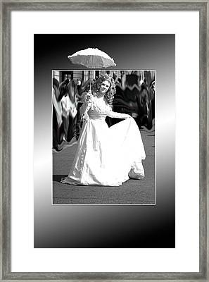 White Lady Framed Print by Christopher Rowlands