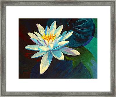 White Lily IIi Framed Print by Marion Rose