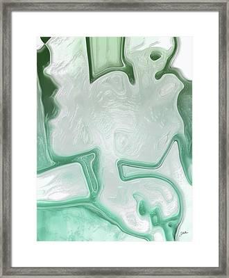 White Limbo Framed Print
