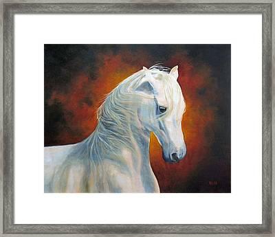 White Magic Framed Print by Marina Petro