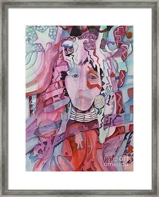 White Man's Magic Framed Print by Linda Rupard