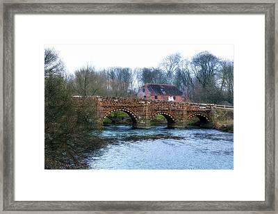 White Mill - England Framed Print