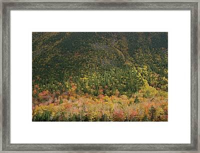 White Mountain Framed Print