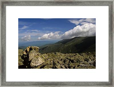 White Mountain National Forest - New Hampshire Usa Framed Print