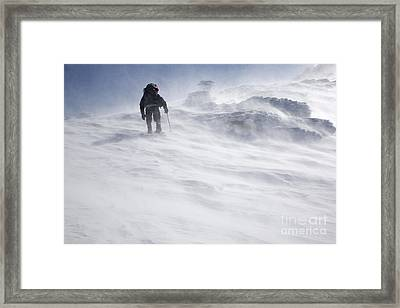 White Mountains New Hampshire - Extreme Weather Framed Print