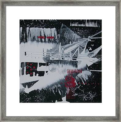 White Noise #1 Framed Print by Charlotte Nunn