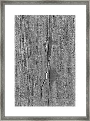 White On White Framed Print by Robert Ullmann