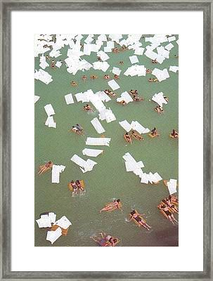 White-out 1 Framed Print by William Douglas