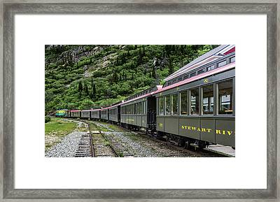 White Pass And Yukon Railway Framed Print