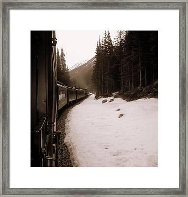 White Pass Railway Framed Print