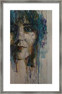White Rabbit Framed Print by Paul Lovering
