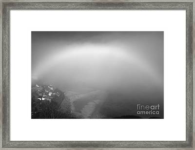 White Rainbow Framed Print by Jason Christopher