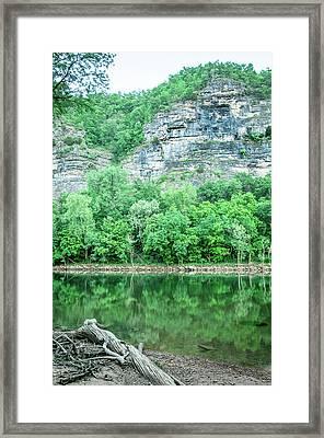White River, Arkansas 4 Framed Print