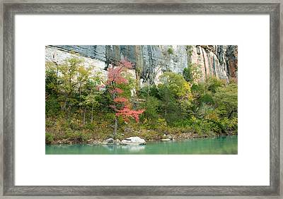 White River Arkansas Framed Print