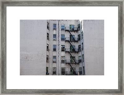 White  Framed Print by Rob Hans