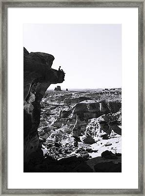 White Rocks Framed Print by Chad Dutson