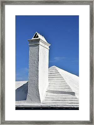 White Roof No. 6-1 Framed Print