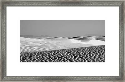 White Sands 1 Framed Print