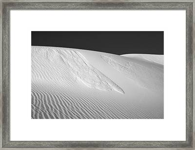 White Sands 2 Framed Print