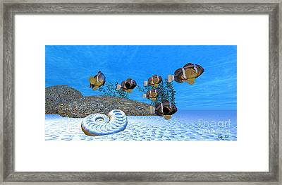 White Sands Framed Print by Corey Ford